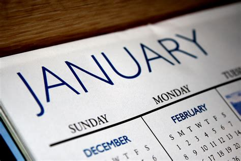 why january is for your event