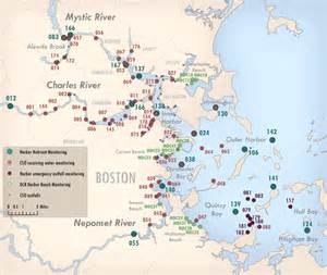 Boston Harbour Map by Mwra Home