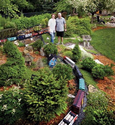 minnesota garden railway society builds backyard railways