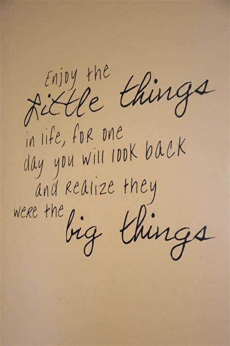 little things quotes about the little things that matter quotesgram