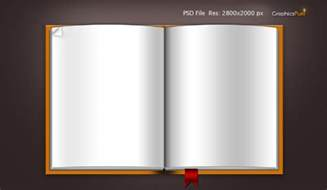 free photo book template blank book template psd file icons graphicsfuel