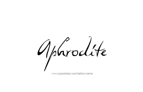 aphrodite tattoo designs aphrodite mythology name designs page 4 of 5