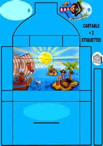 pirate disney playmobil carte enveloppe marque place box