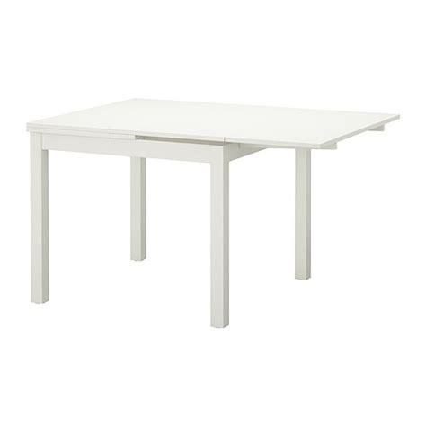 Ikea Dining Table Extendable Bjursta Extendable Table White 90 129 168x90 Cm Ikea