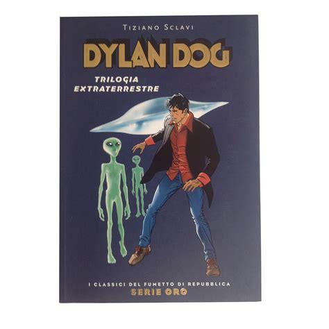 libro dogdogs libro fumetto dylan dog trilogia extraterrestre panini comics era vintage