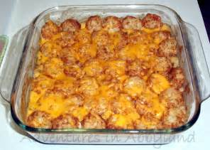 dinner ideas quick easy tater tot casserole