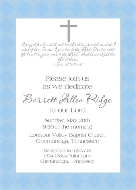 baby dedication invitation template baby dedication invitation by sweetappleberry on etsy