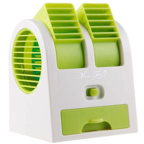 green portable laptop computer usb mini cooler desk air