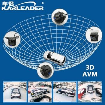 3d avm 360 degree surround view car camera system buy