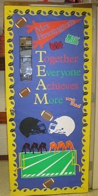 sports themed door decorations sports themed classroom decorations on