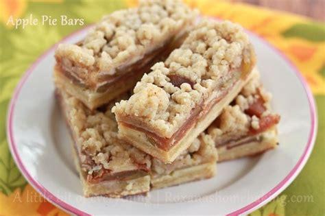 awesome autumn apple pie bars thebestdessertrecipes com