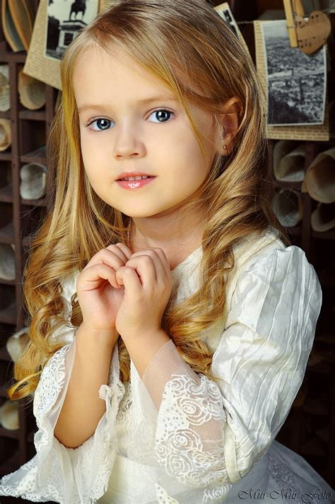 child models mean girl anastasia orub born may 15 2008 russian child model