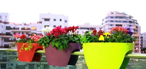 vasi da ringhiera piante per terrazzo alcune idee per un esterno strepitoso