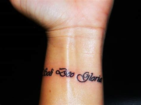 soli deo gloria tattoo soli deo gloria quot for the of god alone quot my
