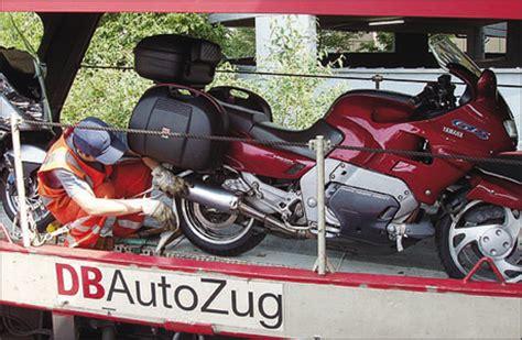 Motorrad Zug Hamburg by Autozug Bald Auf Der Stra 223 E Tourenfahrer