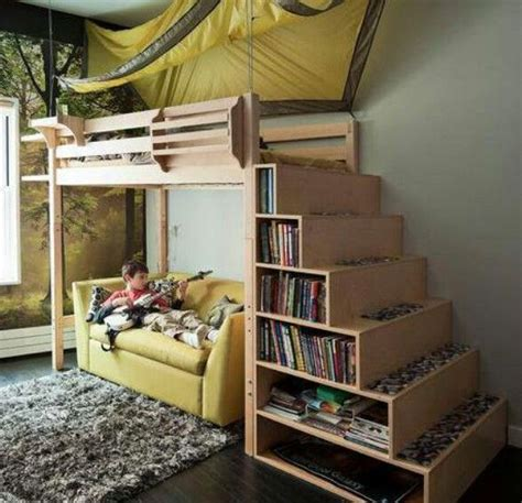 buildable couch buildable bed loft bed shelves steps up to the bed how