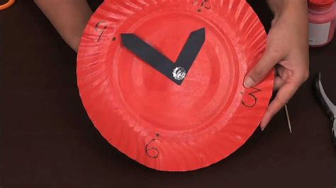 How To Make A Clock With A Paper Plate - 11 how to make a paper clock arts and crafts
