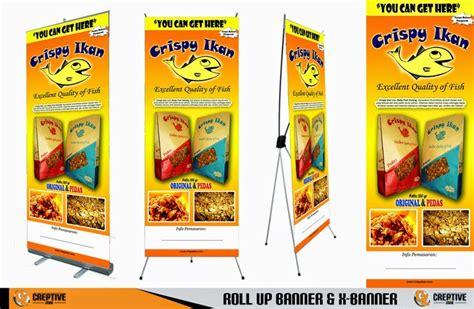 desain brosur di solo contoh banner makanan contoh desain banner pinterest