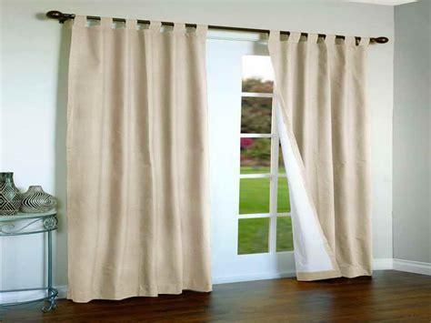 correct choice of patio door curtain window treatments