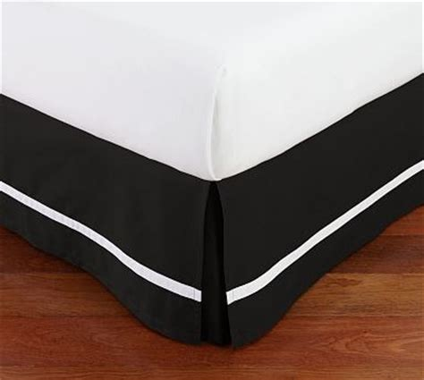 Black And White Striped Bed Skirt by 400 Thread Count White Stripe Bed Skirt King