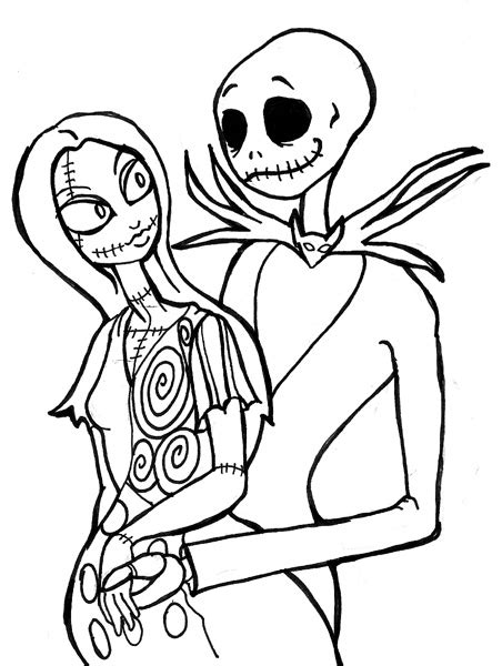 the nightmare before christmas coloring book pages free coloring pages