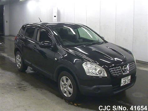 nissan dualis black 2007 nissan dualis black for sale stock no 41654