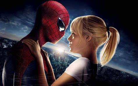 spider man film emma stone amazing spider man emma stone wallpapers hd wallpapers