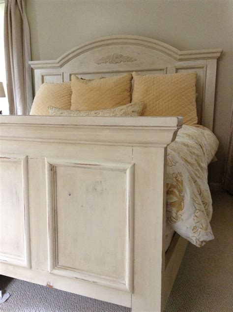 chalk paint bed bed painted with annie sloan old ocre chalk paint
