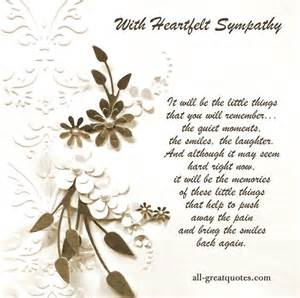 Sympathy cards and sayings on pinterest handmade sympathy cards