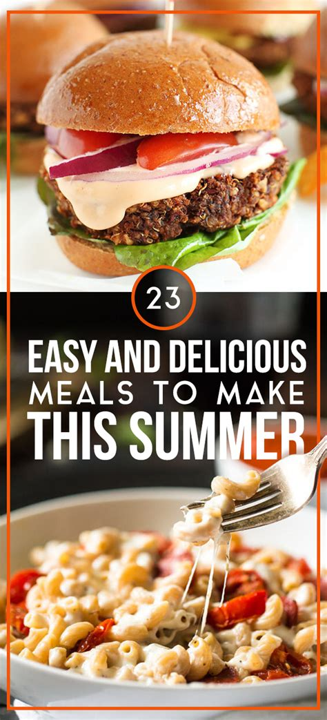 23 easy and delicious meals to make this summer 171 healthy food recipes