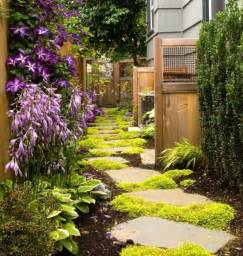 Plants aren t the only pathway fillers add some rocks to the mix