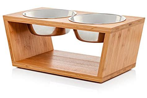 premium  elevated dog  cat pet feeder double bowl