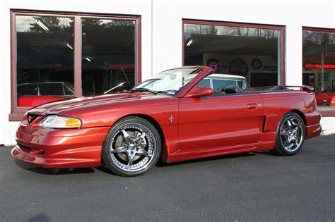ford racing motor 1994 ford mustang gt convertible custom ford racing