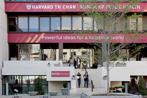 Boston Mph Mba Reviews by Harvard T H Chan School Of Health Powerful Ideas