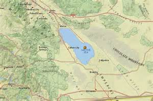 swarm of small earthquakes salton sea california