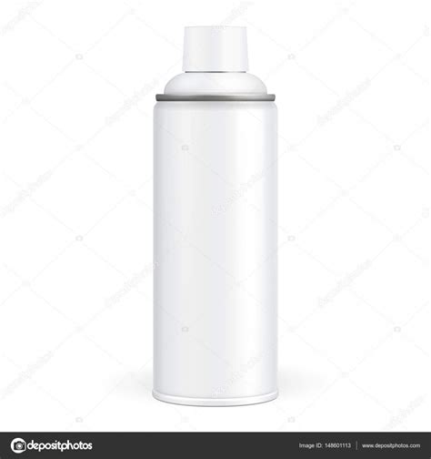 spray paint mockup white paint aerosol spray metal 3d bottle can graffiti