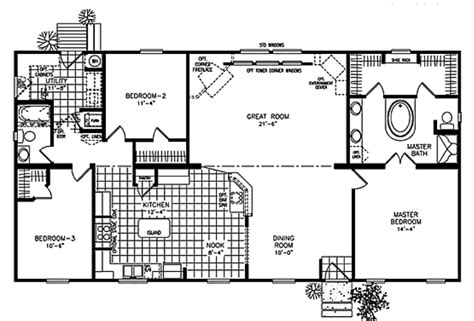 ranch modular home plans modular ranch homes with garages ranch modular home floor