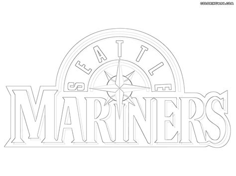 seattle mariners coloring pages coloring pages