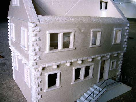 modellbau haus selber bauen leichtes beton viadukt