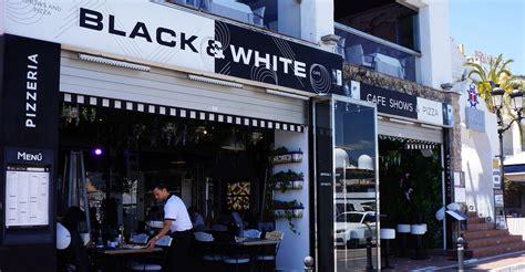 black restaurant black white restaurant cocktail 183 shows 183 pizzas