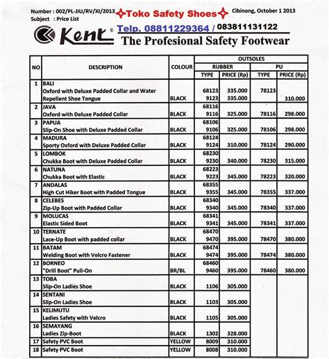 Harga Levis Nevada list sepatu safety pangolin safety boots steel toe cap