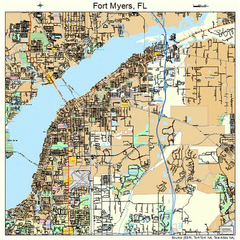 map of florida fort myers ft myers florida map bnhspine