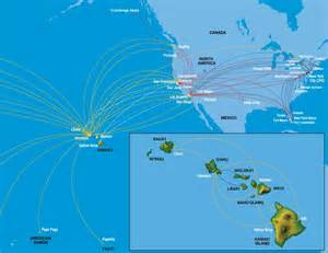 hawaiian airlines route map delta pointsdelta points