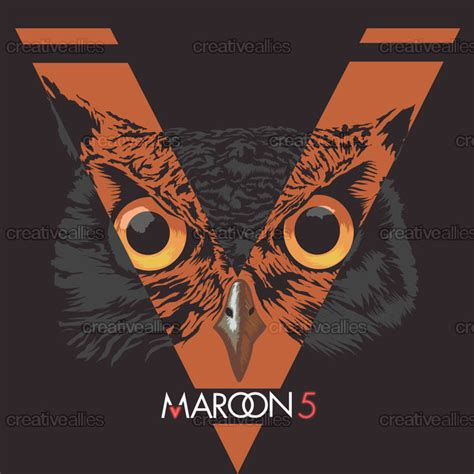 maroon 5 illuminati maroon 5 album cover by kimkong