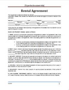 Contributor Agreement Template ms word rental agreement template word document templates