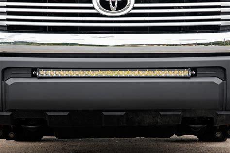 toyota tundra light bar 30 inch single row cree led bumper kit for 2014 2017