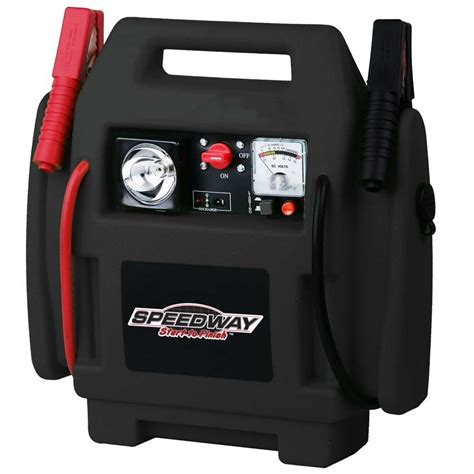 Lu Emergency Charger speedway emergency car jump starter and compressor with