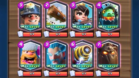 legendary decks 100 all legendary deck maxed w inferno clash