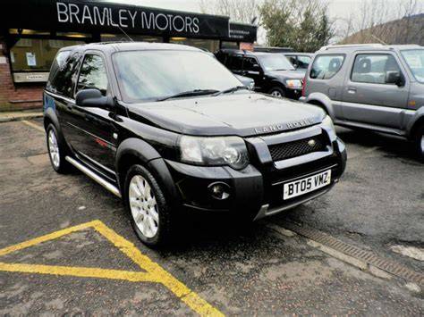 land rover freelander td sport  excellent