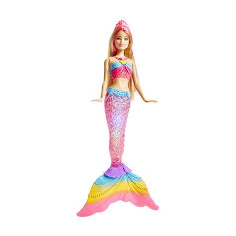 Light Pearl Mermaid by Rainbow Lights Mermaid Doll Kmart